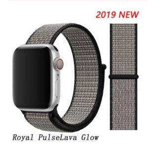 ❤️NEW Royal Pulse Sport Loop Strap For Apple Watch